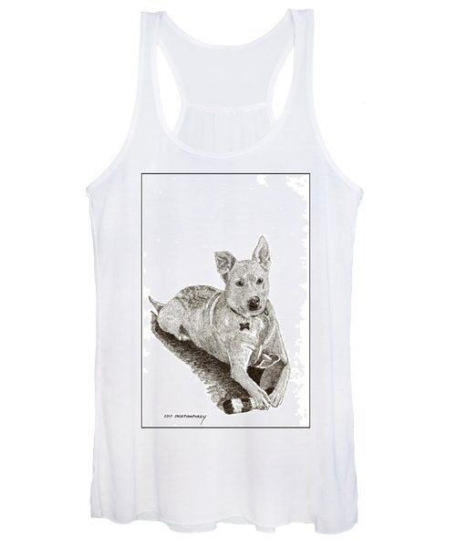 Taz  Rescue Pound Dog Women's Tank Top