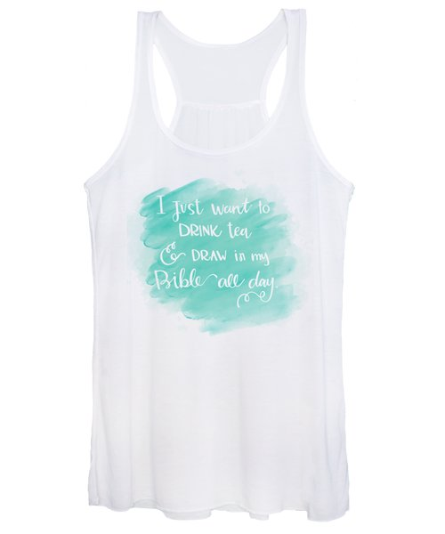 Tea And Draw Women's Tank Top