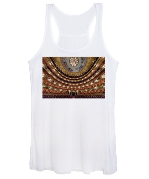 Teatro Colon Performers View Women's Tank Top