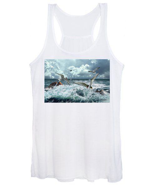 Terns In The Surf Women's Tank Top