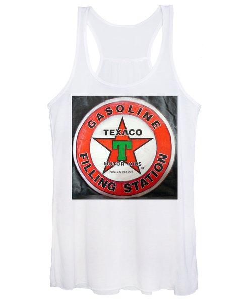 Texaco Sign Women's Tank Top
