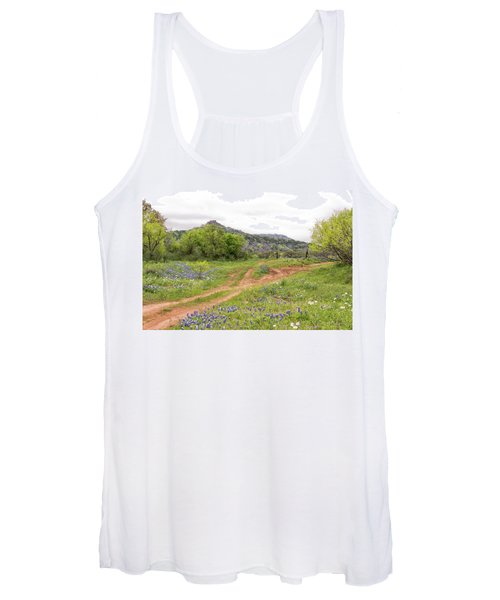 Texas Hill Country Women's Tank Top