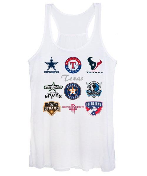 Texas Professional Sport Teams Women's Tank Top