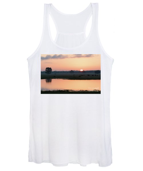 Texas Sunrise Women's Tank Top