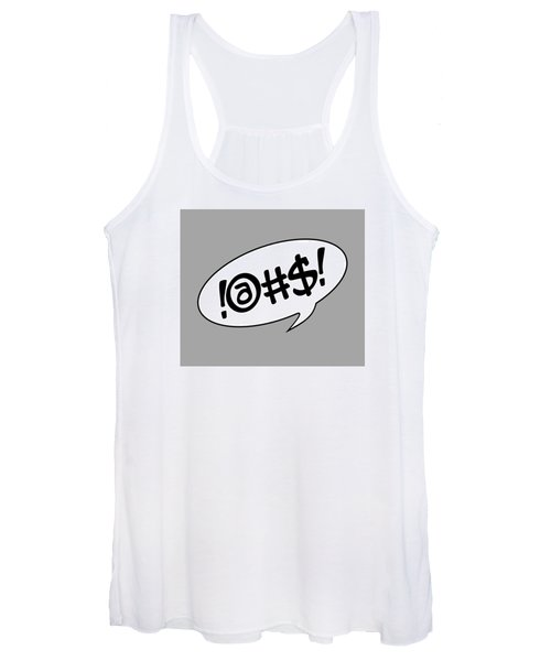 Text Bubble Women's Tank Top