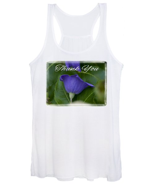 Thank You Balloon Women's Tank Top