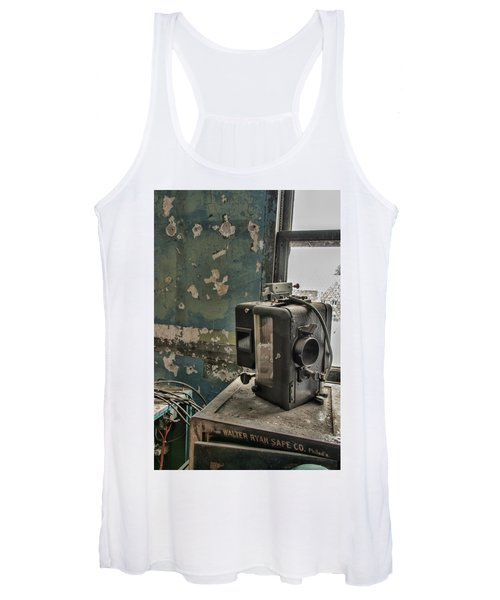 The Abandoned Projector Women's Tank Top
