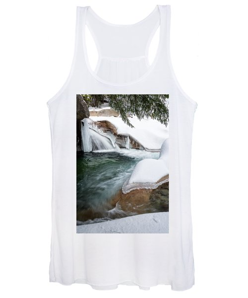 The Basin Side View Nh Women's Tank Top