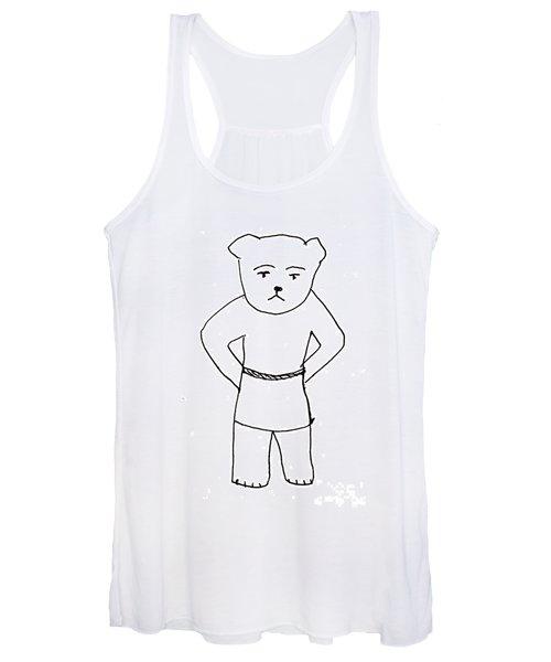 The Bear Women's Tank Top