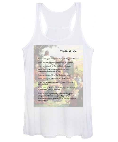 The Beatitudes Women's Tank Top