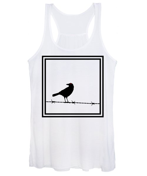 The Black Crow Knows T-shirt Women's Tank Top
