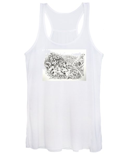 The Boneyard Of Unused Shapes Women's Tank Top