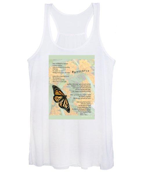 The Butterfly Women's Tank Top