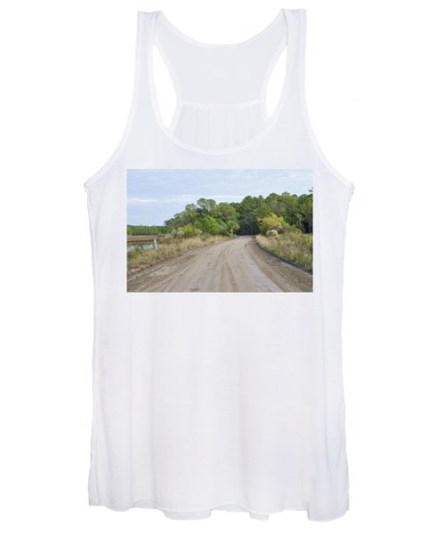 The Causway On Chisolm Island Women's Tank Top