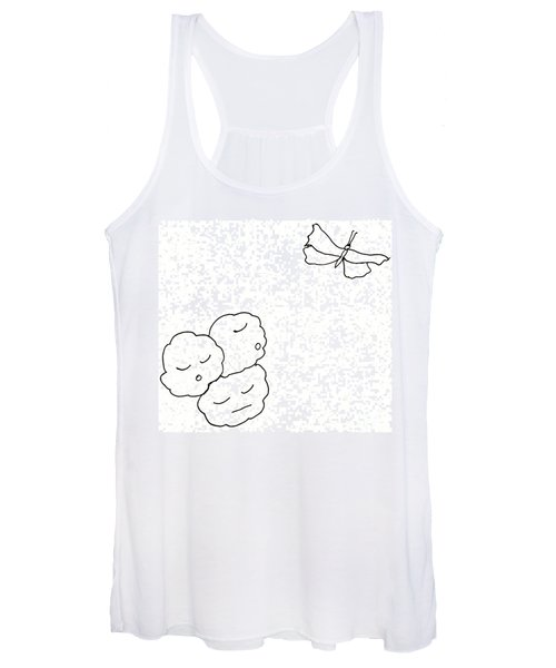 The Clouds Looked Down Their Noses Women's Tank Top