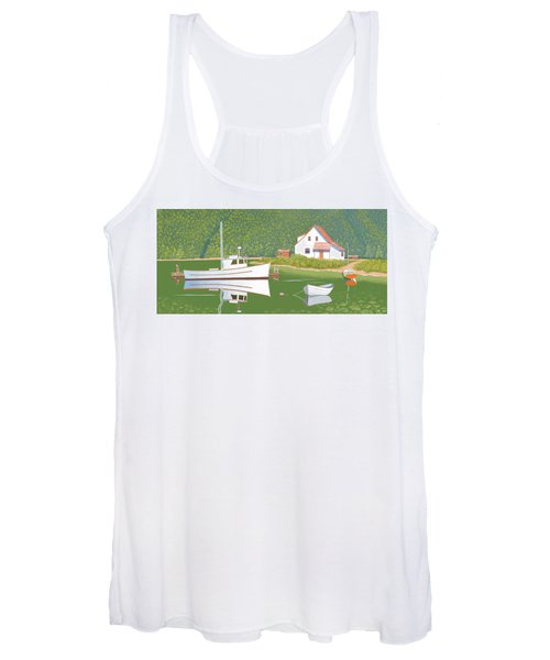 The Cottsge At Blackberry Point Women's Tank Top