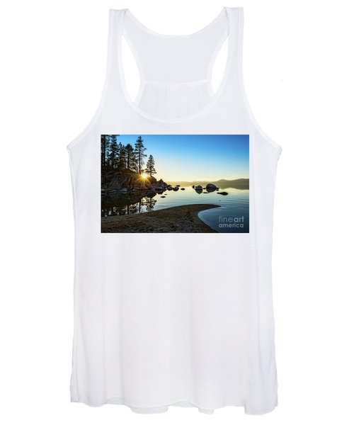 The Cove At Sand Harbor Women's Tank Top