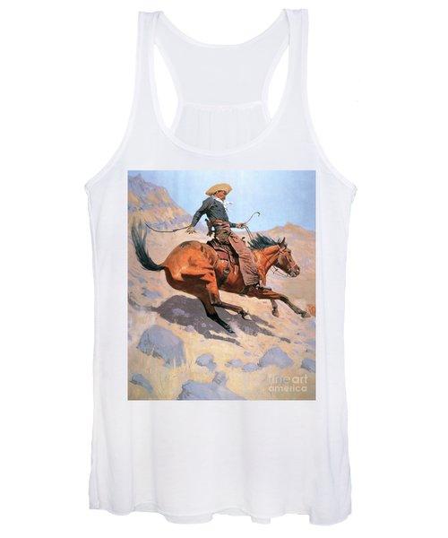 The Cowboy Women's Tank Top