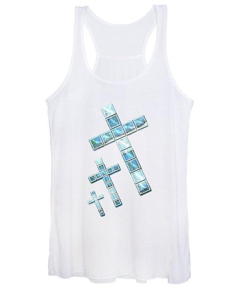 The Cross Speaks Of You Women's Tank Top
