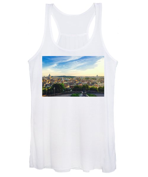 The Domes Of Rome Women's Tank Top
