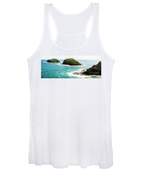 The Doughboys Island Landscape Women's Tank Top