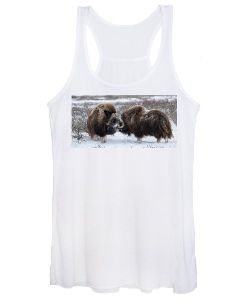 The Face Off  Women's Tank Top