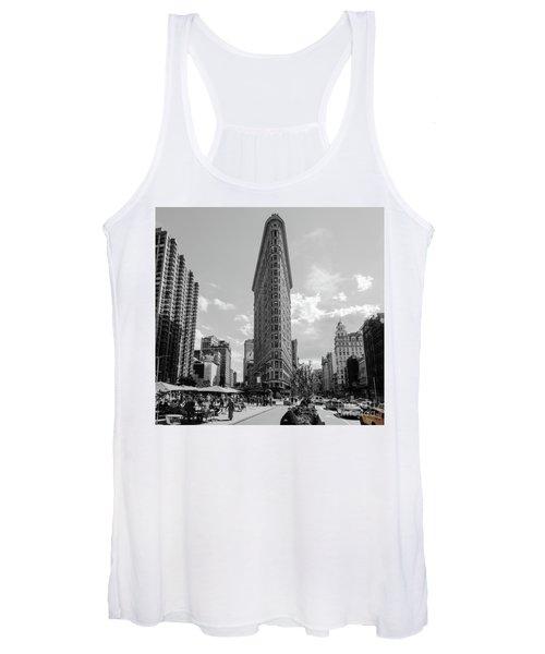The Flatiron Building New York Women's Tank Top