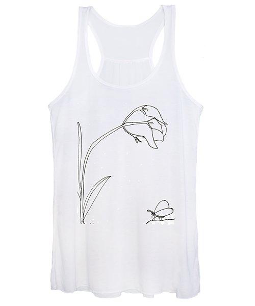 The Flower Women's Tank Top