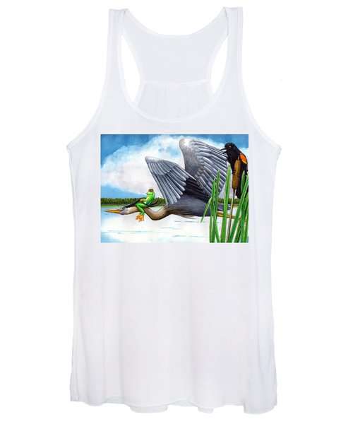 The Fly By Women's Tank Top