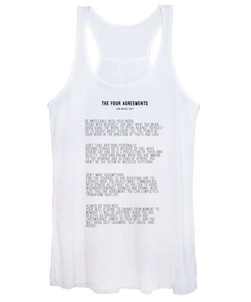 The Four Agreements 5 Women's Tank Top
