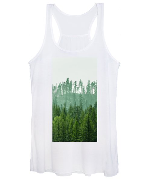The Green And The Not So Green Women's Tank Top
