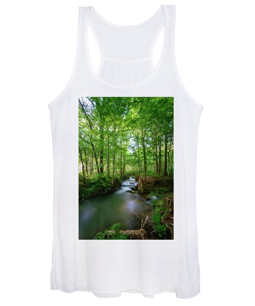The Green Forest Women's Tank Top