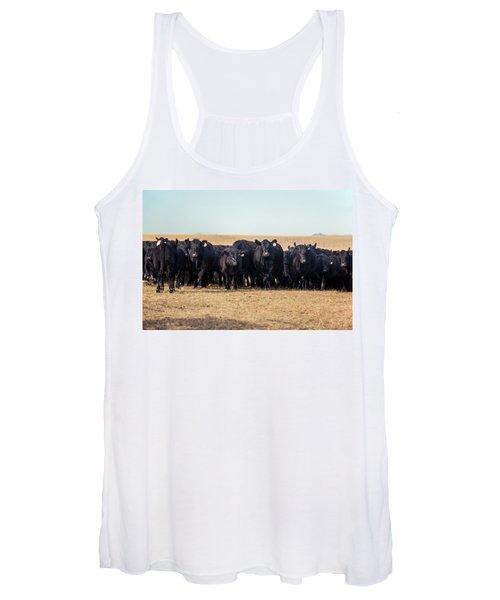 The Herd Rushes In Women's Tank Top