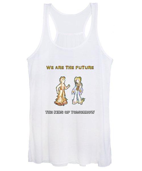 The Kids Of Tomorrow Corie And Albert Women's Tank Top