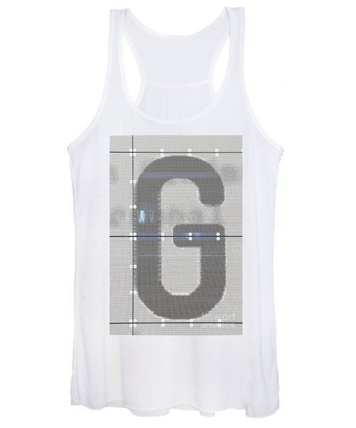 The Letter G Women's Tank Top