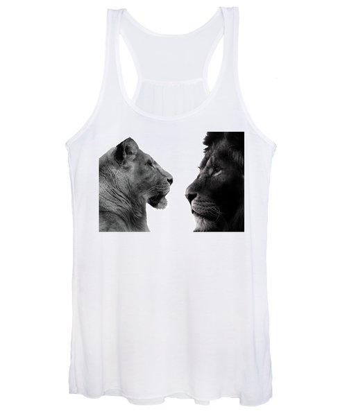 The Lioness And Lion Women's Tank Top