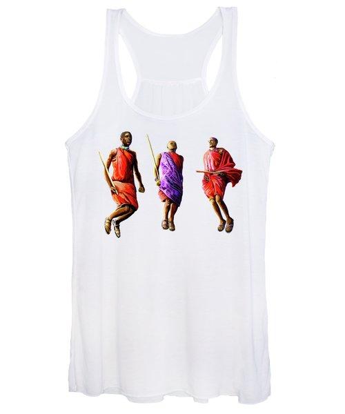 The Maasai Jump Women's Tank Top