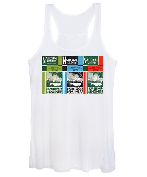 The National Limited Collage Women's Tank Top