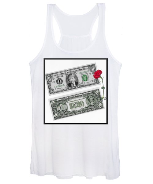 The New Trump Currency Women's Tank Top
