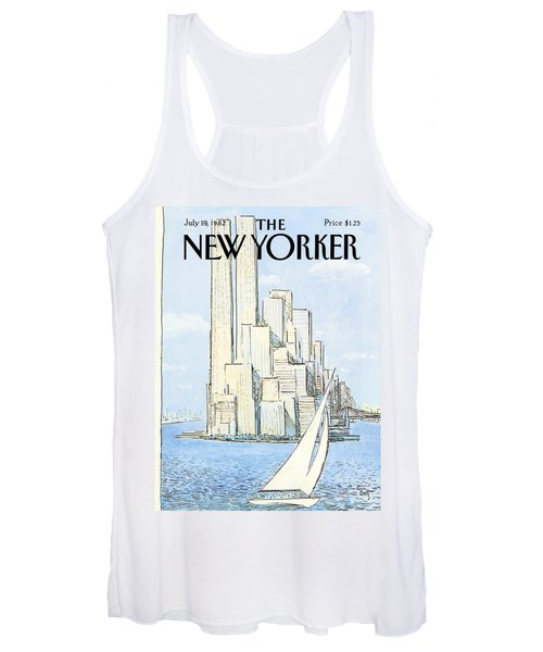 The New Yorker Cover - July 19th, 1982 Women's Tank Top
