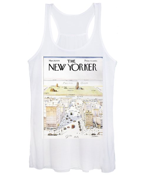 New Yorker March 29, 1976 Women's Tank Top