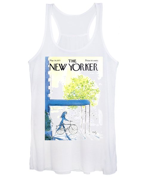 The New Yorker Cover - May 26th, 1973 Women's Tank Top