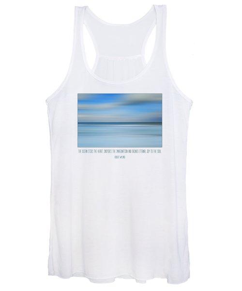 The Ocean By Robert Wyland Women's Tank Top