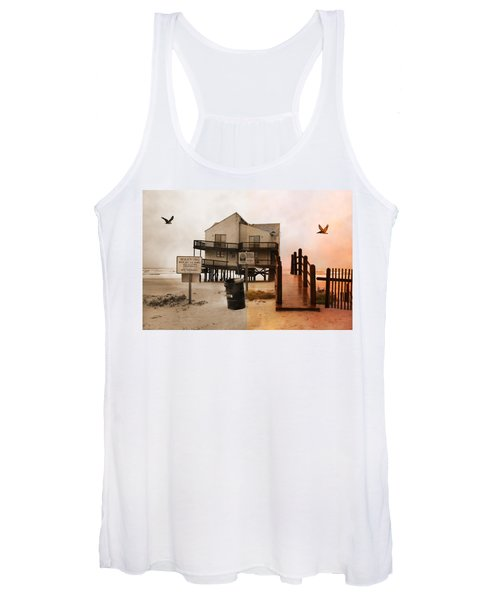 The Osprey And The Pelican Women's Tank Top
