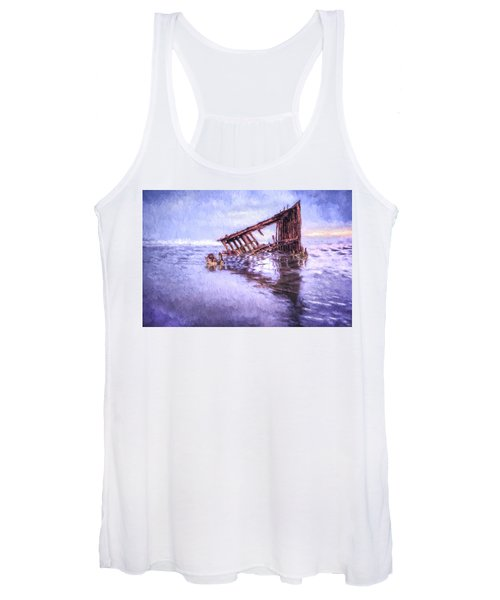 A Stormy Peter Iredale Women's Tank Top