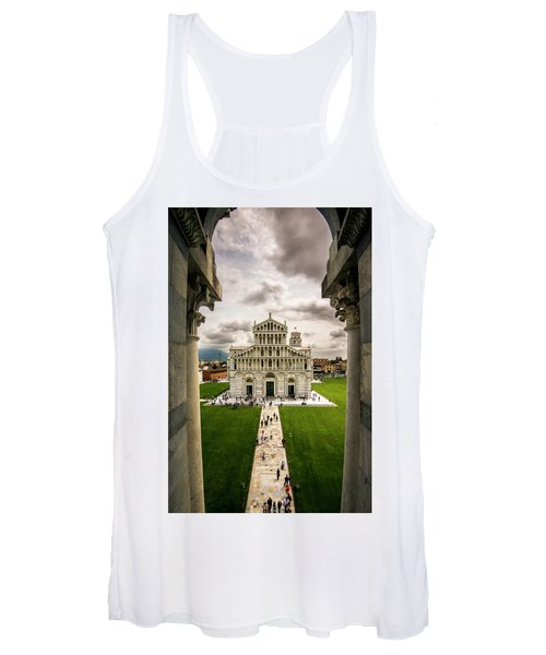 The Pisa Cathedral From The Bapistry Women's Tank Top