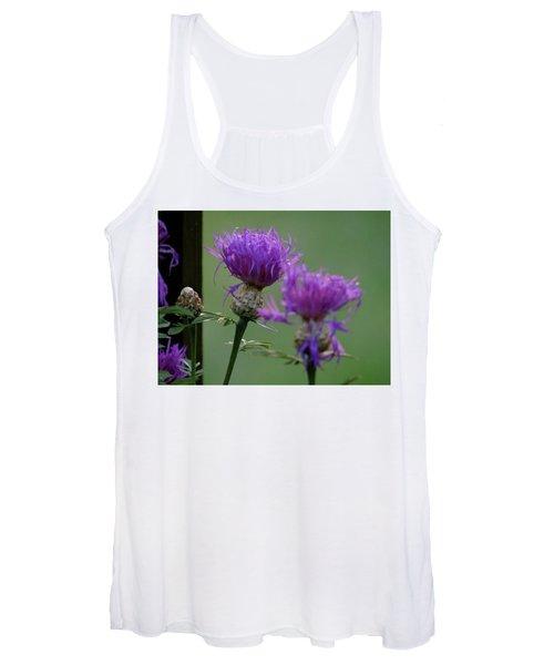 The Purple Bloom Women's Tank Top