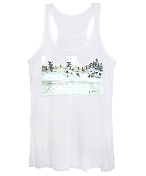 The Reflection Lake Women's Tank Top