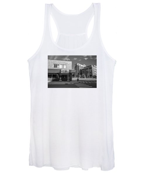 The Riv Ion Black And White Women's Tank Top