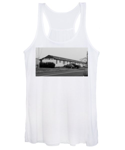 The Rolling Stones' Memory Motel Montauk New York Women's Tank Top
